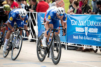 Stage 1 - Long Beach, Maximiliano Richeze and Fernando Gaviria